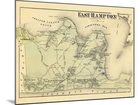 1873, East Hampton, New York, United States--Mounted Giclee Print