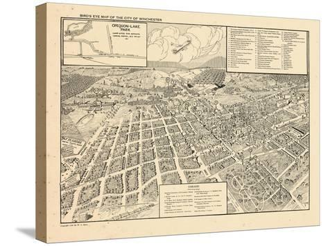 1926, Winchester Bird's Eye View, Virginia, United States--Stretched Canvas Print
