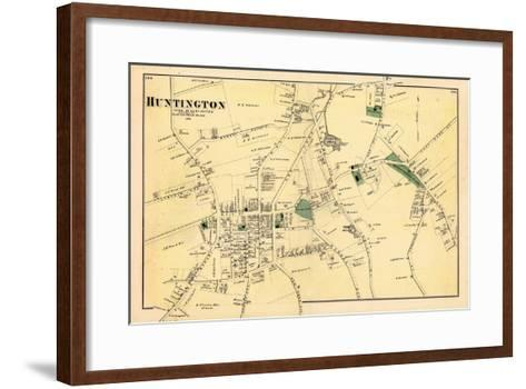 1873, Huntington Town, New York, United States--Framed Art Print