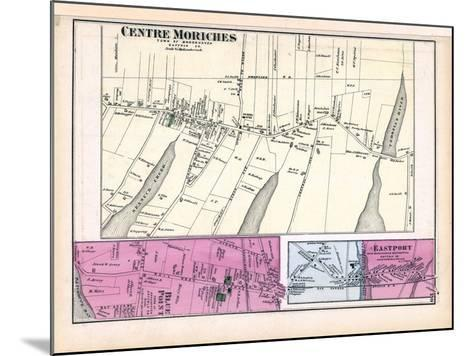 1873, Moriches Centre Blue Point Town Eastport Town, New York, United States--Mounted Giclee Print