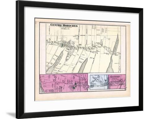 1873, Moriches Centre Blue Point Town Eastport Town, New York, United States--Framed Art Print