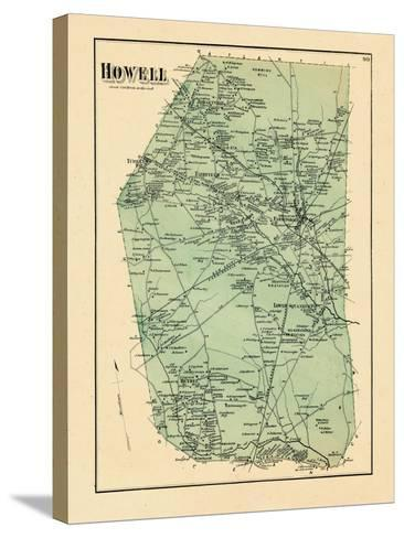 1873, Howell Township, New Jersey, United States--Stretched Canvas Print