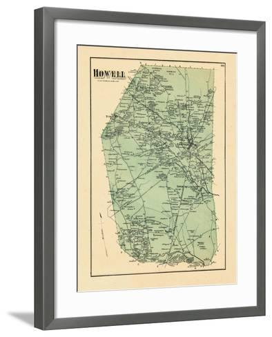 1873, Howell Township, New Jersey, United States--Framed Art Print