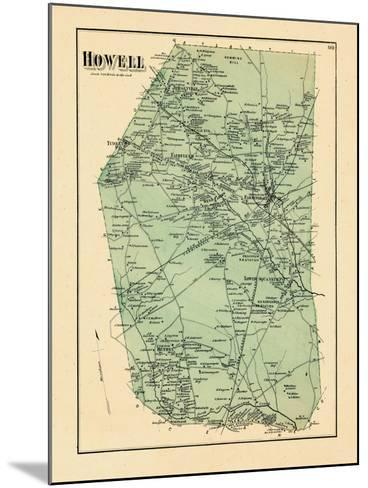 1873, Howell Township, New Jersey, United States--Mounted Giclee Print