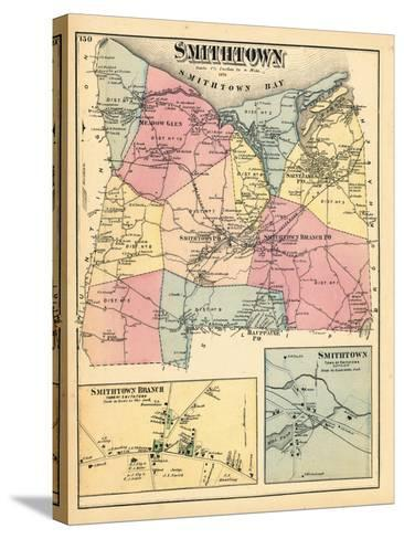 1873, Smithtown Smithtown Branch Town Smithtown Town, New York, United States--Stretched Canvas Print