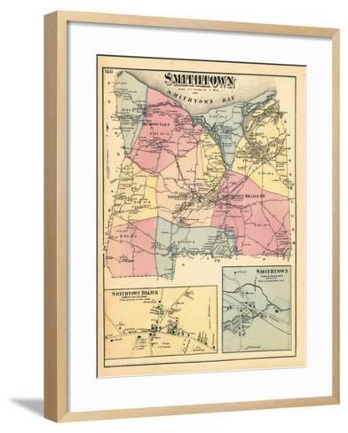 1873, Smithtown Smithtown Branch Town Smithtown Town, New York, United States--Framed Art Print