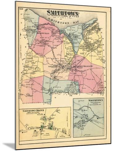 1873, Smithtown Smithtown Branch Town Smithtown Town, New York, United States--Mounted Giclee Print