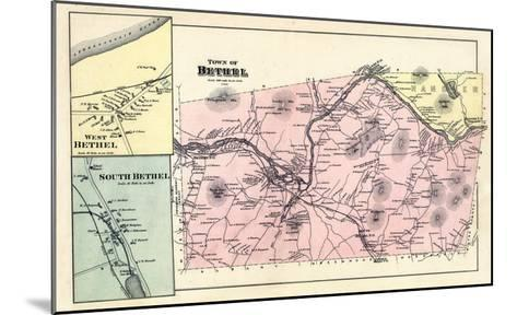 1880, Bethel Town, Bethel West, Bethel South, Maine, United States--Mounted Giclee Print