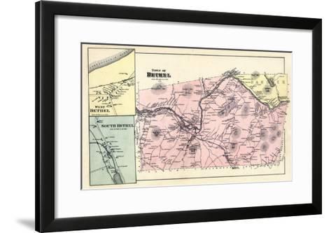 1880, Bethel Town, Bethel West, Bethel South, Maine, United States--Framed Art Print