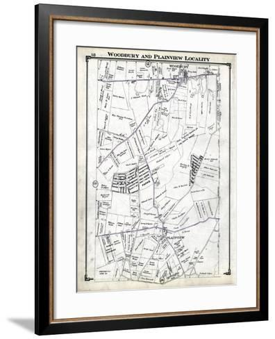 1914, Woodbury and Plainview Locality, New York, United States--Framed Art Print