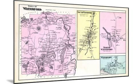 1880, Waterford Town, Waterford South, Waterford North, Waterford, Maine, United States--Mounted Giclee Print