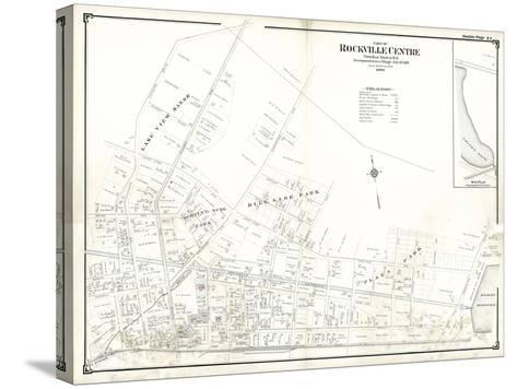 1906, Rockville Centre (Upper Part), New York, United States--Stretched Canvas Print