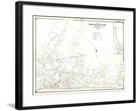 1906, Rockville Centre (Upper Part), New York, United States--Framed Art Print