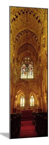 Interiors of a Chapel, Rosslyn Chapel, Roslin, Midlothian, Edinburgh, Scotland--Mounted Photographic Print