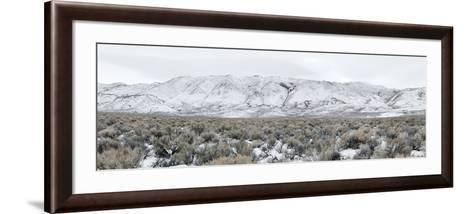 Mountain Range, Black Rock Desert, Nevada, USA--Framed Art Print
