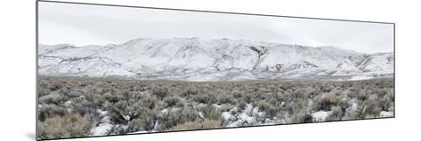 Mountain Range, Black Rock Desert, Nevada, USA--Mounted Photographic Print