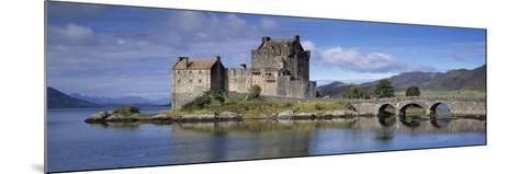 Castle on an Island, Eilean Donan, Loch Duich, Dornie, Highlands Region, Scotland--Mounted Photographic Print