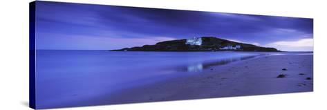 Island in the Ocean, Burgh Island, Bigbury-On-Sea, South Devon, Devon, England--Stretched Canvas Print