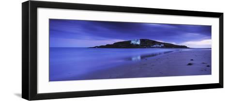 Island in the Ocean, Burgh Island, Bigbury-On-Sea, South Devon, Devon, England--Framed Art Print