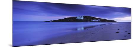 Island in the Ocean, Burgh Island, Bigbury-On-Sea, South Devon, Devon, England--Mounted Photographic Print