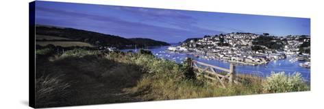 Town on an Island, Salcombe, South Devon, Devon, England--Stretched Canvas Print