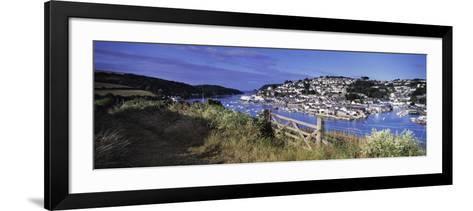 Town on an Island, Salcombe, South Devon, Devon, England--Framed Art Print