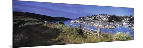 Town on an Island, Salcombe, South Devon, Devon, England--Mounted Photographic Print