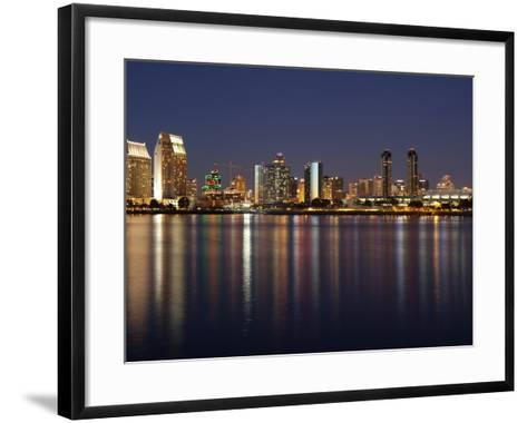 Buildings at the Waterfront, San Diego, California, USA--Framed Art Print