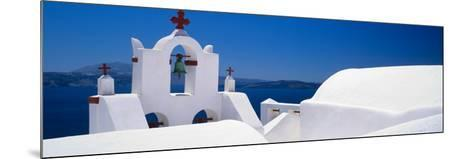 Church, Oia, Santorini, Cyclades Islands, Greece--Mounted Photographic Print