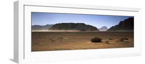 Windswept Desert, Wadi Rum, Jordan--Framed Art Print