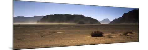Windswept Desert, Wadi Rum, Jordan--Mounted Photographic Print