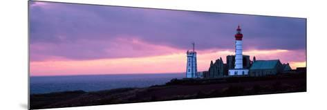 Lighthouse on the Coast, Saint Mathieu Lighthouse, Finistere, Brittany, France--Mounted Photographic Print