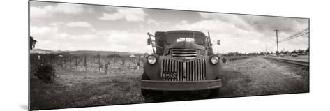 Old Truck in a Field, Napa Valley, California, USA--Mounted Photographic Print