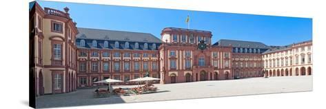Facade of the Palace, Mannheim Palace, Mannheim, Baden-Wurttemberg, Germany--Stretched Canvas Print