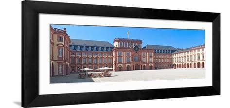 Facade of the Palace, Mannheim Palace, Mannheim, Baden-Wurttemberg, Germany--Framed Art Print