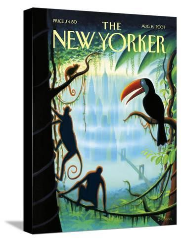 The New Yorker Cover - August 6, 2007-Eric Drooker-Stretched Canvas Print