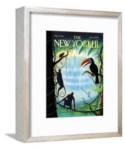 The New Yorker Cover - August 6, 2007-Eric Drooker-Framed Art Print