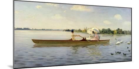 On the Thames, 1878-Giuseppe De Nittis-Mounted Giclee Print