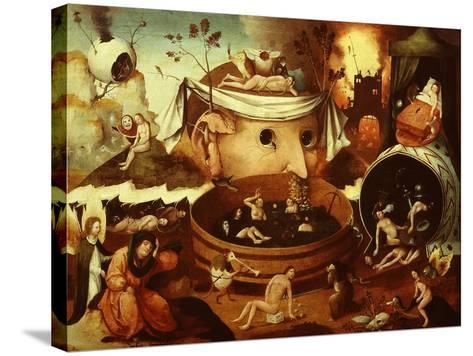 The Vision of Tondal-Hieronymus Bosch-Stretched Canvas Print