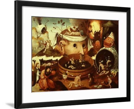 The Vision of Tondal-Hieronymus Bosch-Framed Art Print