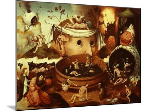 The Vision of Tondal-Hieronymus Bosch-Mounted Giclee Print