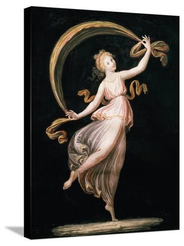 Dancer-Antonio Canova-Stretched Canvas Print