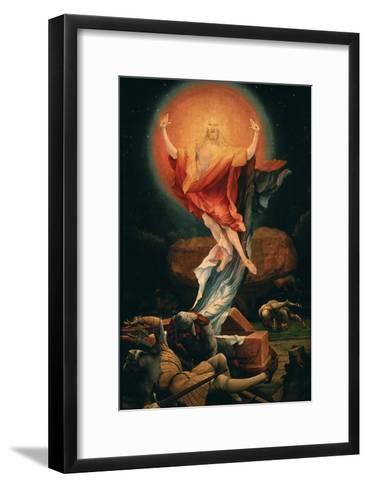 The Resurrection of Christ, from the Isenheim Altarpiece, C.1515 (Detail)-Matthias Gr?newald-Framed Art Print