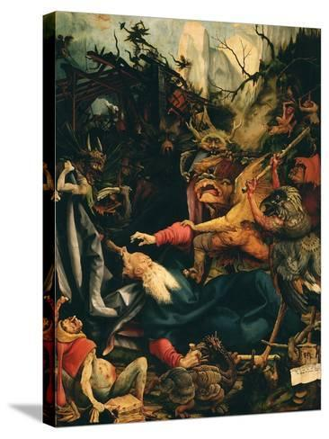 The Temptation of Saint Anthony, from the Isenheim Altarpiece, C.1515 (Detail)-Matthias Gr?newald-Stretched Canvas Print