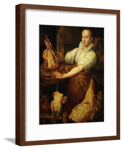 The Cook by Vincenzo Campi 1536-91 Italian-Vincenzo Campi-Framed Art Print
