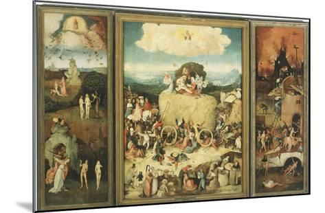 The Haywain, 1485-Hieronymus Bosch-Mounted Giclee Print