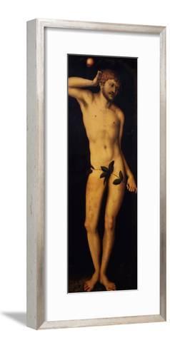 Adam, 1528-Lucas Cranach the Elder-Framed Art Print