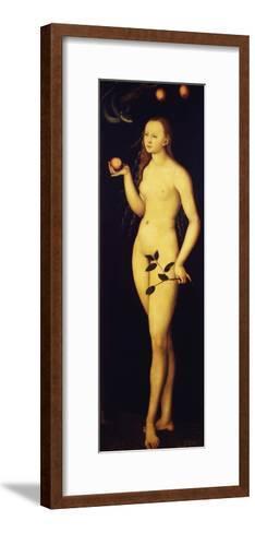 Eve, 1528-Lucas Cranach the Elder-Framed Art Print