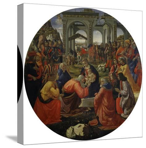Adoration of the Magi C.1487-Ridolfo Ghirlandaio-Stretched Canvas Print