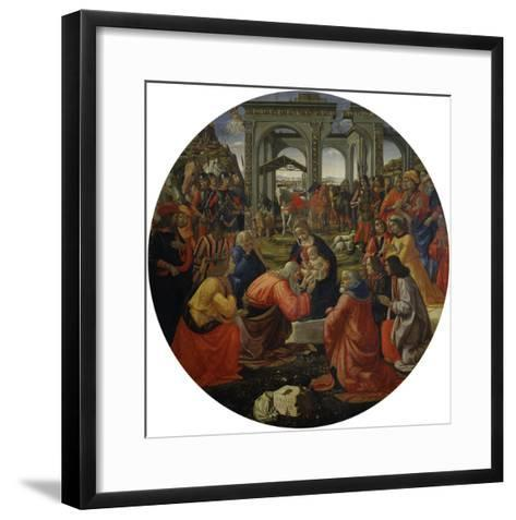 Adoration of the Magi C.1487-Ridolfo Ghirlandaio-Framed Art Print
